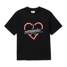 B BONJOUR NOMANTIC 1/2 T-SHIRT BLACK