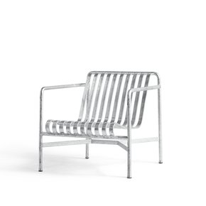 Palissade Lounge Chair Low Hot Galvanized