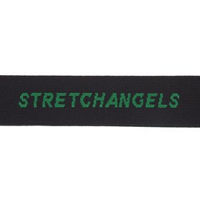 Solid knit logo strap (GREEN)(SXACX2911)