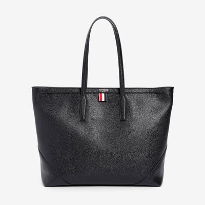 THOM BROWNE 톰 브라운 BUCKET TOTE BAG BLACK FAP167A00198 001
