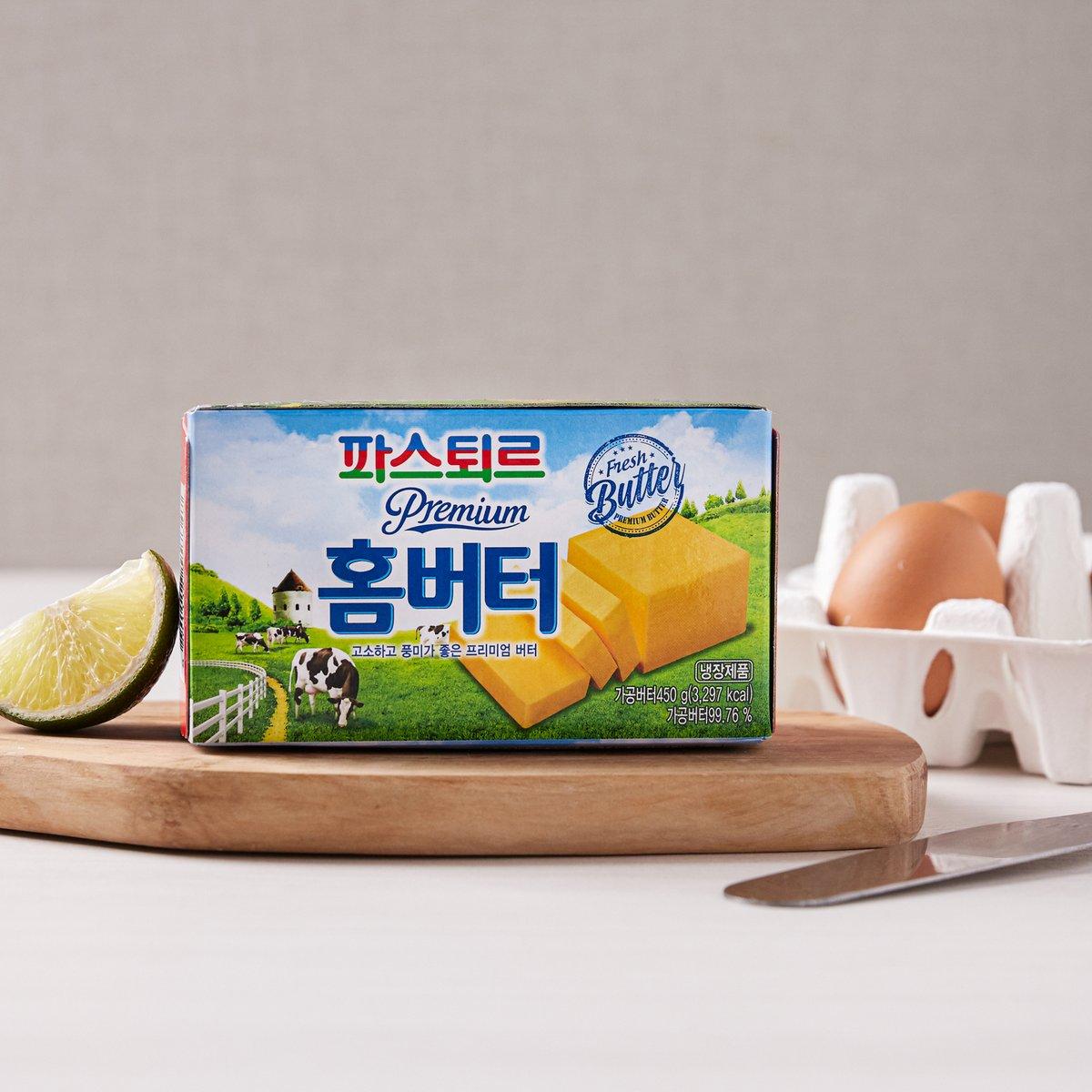 [롯데] 쉐푸드홈버터450g