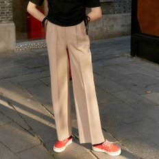[레이브] Pintuck Wide Slacks in beige_VW9AL0510