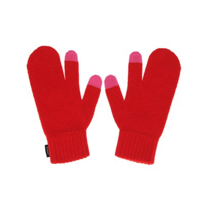 FENNEC KNIT TIMI GLOVES - RED