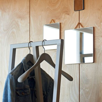 SOFT COAT HANGER SLIM GREY
