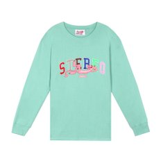 [FW19 Pink Panther] Stereo Logo Long Sleeve(Mint)