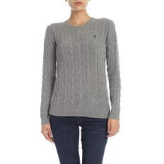 [폴로 랄프로렌] Cable knitted pullover in grey (211525764009)