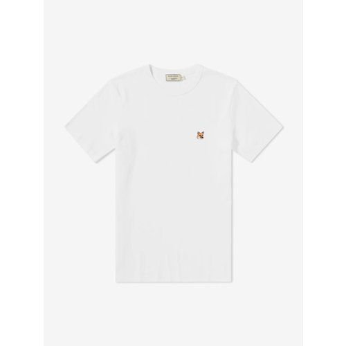 [PRE-ORDER] 20SS TEE-SHIRT FOX PATCH WHITE MEN AM00103KJ0008