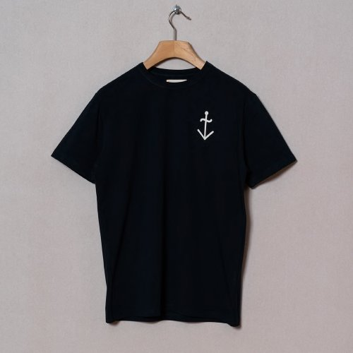 [LA PAZ/라파즈] 20PS GUERREIRO POCKET T-SHIRT MOON DK NAVY