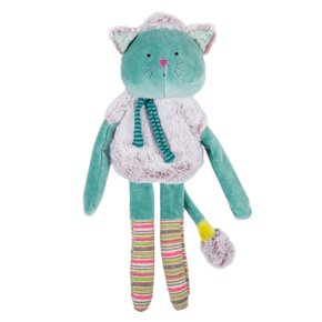 블루고양이애착인형 les pachats blue cat doll36cm