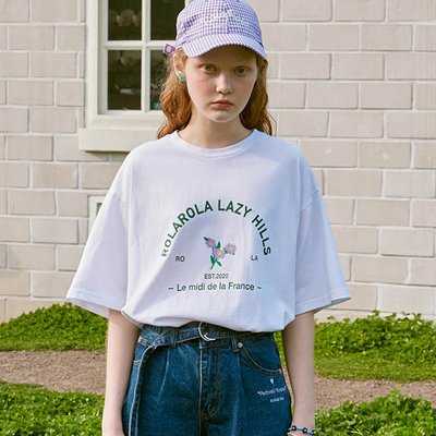 (TS-20302) ARCH FLOWER T-SHIRT WHITE