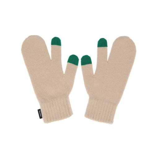 FENNEC KNIT TIMI GLOVES - BEIGE