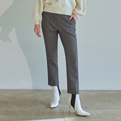 [DEANS] PREMIUM STRAIGHT SLACKS_CHARCOAL
