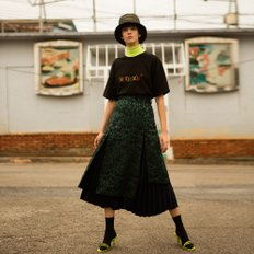 MARIANA DOUBLE LAYERED SKIRT apa292w(Green)