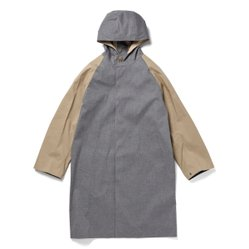 BONDED OVERSIZED RAINCOAT GR-122/CB