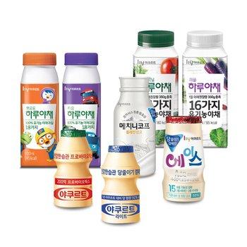[한국야쿠르트] 가정배달 대표인기상품 모음전! 콜드브루/짜먹는수퍼백/얼려먹는 야쿠르트 외~
