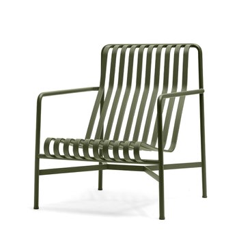 [주문 후 3개월 소요] Palissade Lounge Chair High Anthracite