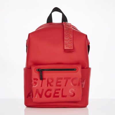 스트레치엔젤스[S.P.U] Pocket pouch backpack L (Red)
