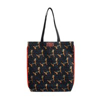 Pattern eco bag puppy_gray
