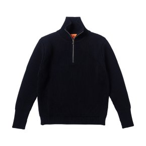 NAVY HALF ZIP NAVY BLUE