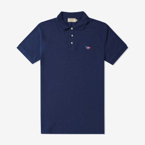 [PRE-ORDER] 20SS POLO TRICOLOR FOX PATCH NAVY MEN AM00200KJ7002