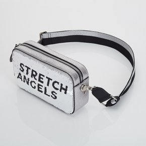 ●SXMR06911●Panini double spangle bag_SILVER