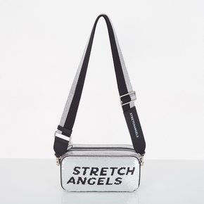 스트레치엔젤스[파니니백]PANINI double spangle bag(Silver)(SXMR06911)