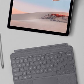 [Microsoft] Surface Go Signature Type Cover Lt Charcoal(Platinum)(KCS-00142)