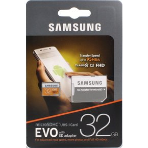 삼성Micro SD EVO 32GB(MP32GA/KR)