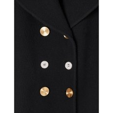 Double Breasted Coat Black 여성 코트 D2291100PA 1100