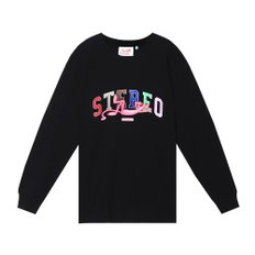 [FW19 Pink Panther] Stereo Logo Long Sleeve(Black)
