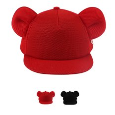 Mesh neoprene ear snap back / BP7212336
