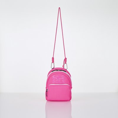 [L.P.Y] SGLS spangle 2way sling-bag (Pink)