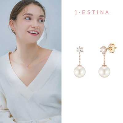 BASIC PERLINA 14K 귀걸이 (JJP1EF1BS181R4000)