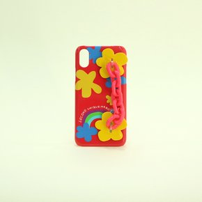[세컨드유니크네임]SUN CASE CANDY CHAIN RED