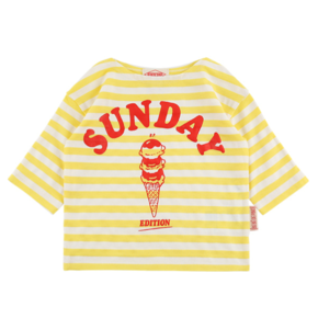 Sunday ice cream baby three-quarter tee BP9222113