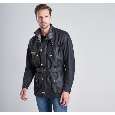 Barbour International 바버 인터내셔널 오리지널 왁스 자켓 (International Original Waxed Jacket) MWX0004BK