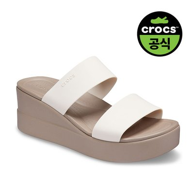 크록스공식 여성 CROCS BROOKLYN MID WEDGE W SMR (20SWWD206219)