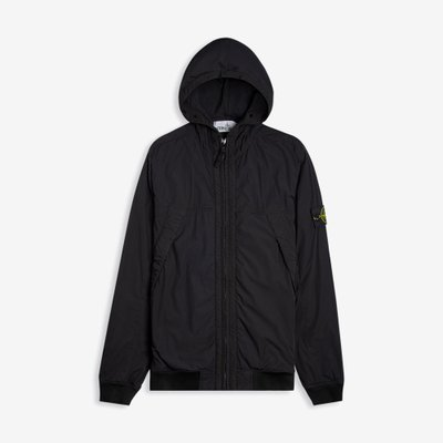 STONE ISLAND 스톤 아일랜드 COMFORT TECH HOODED JACKET BLACK 711541028 V0029