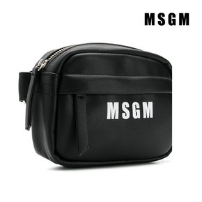 [MSGM] 트래드후스 MSGM 020275 BORSELLO ECO PELLE FANNY PACK BLACK