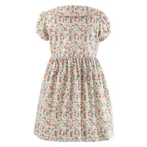 Disty Floral Button-front Dress