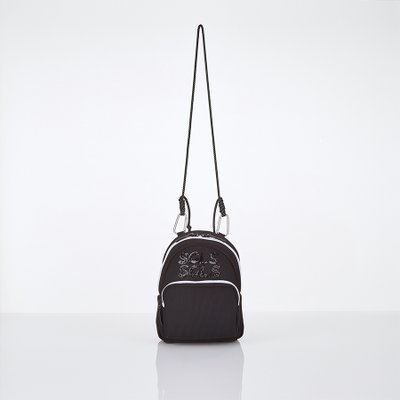 [L.P.Y] SGLS spangle 2way sling-bag (Black)