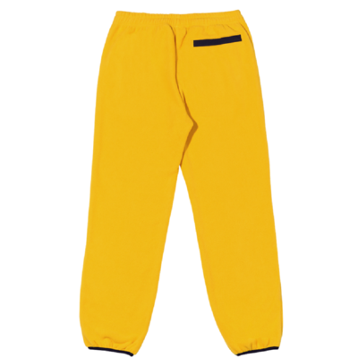 Fleece Pants Yellow