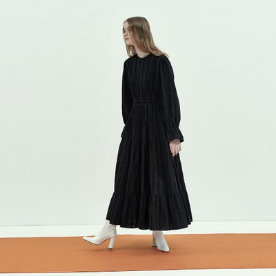 [9/26 예약배송] Bohemian Maxi Dress in Black