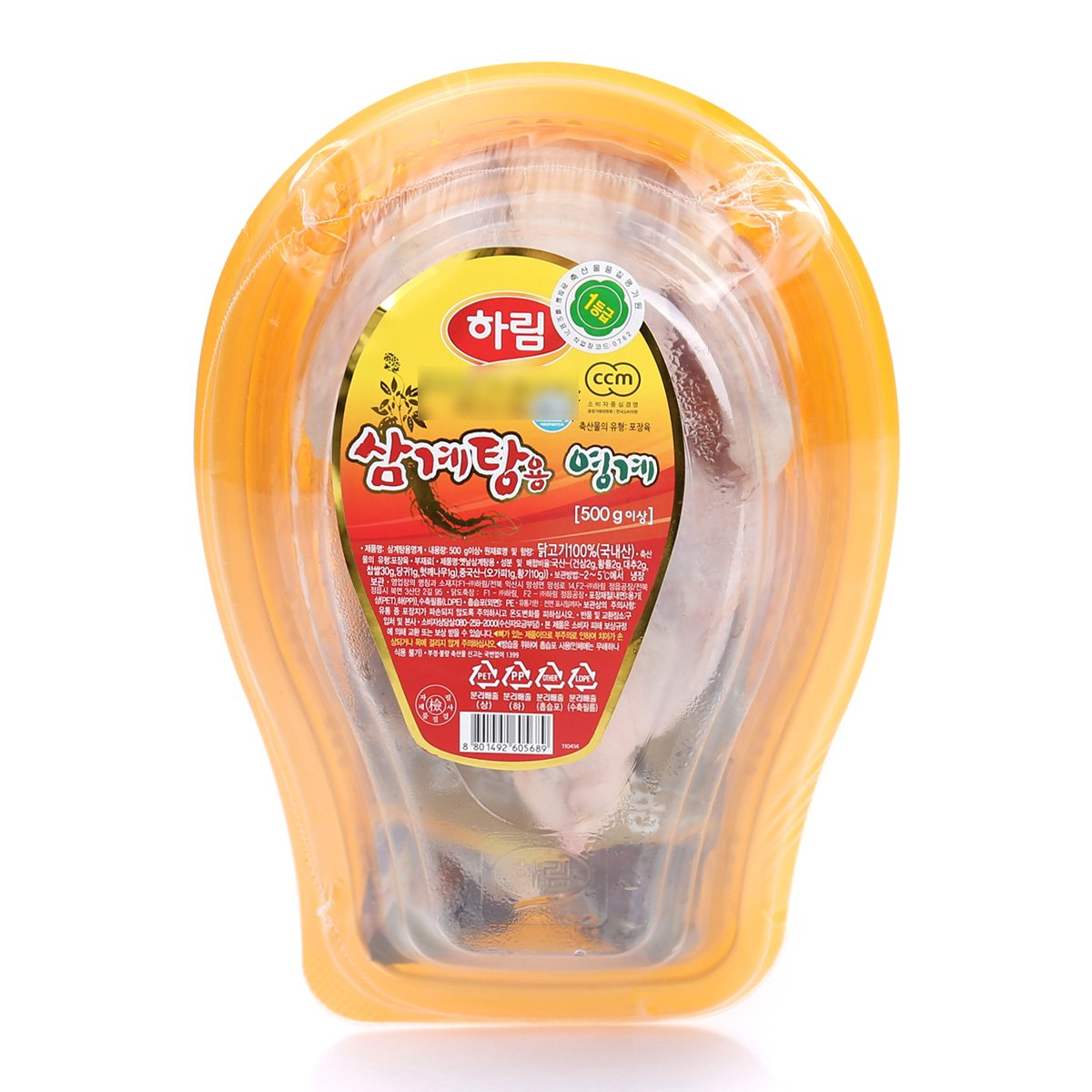하림삼계탕용닭 500g