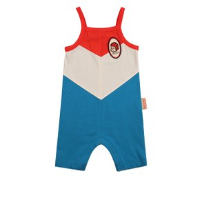 Keep your chin up baby color block suit / BP8216177