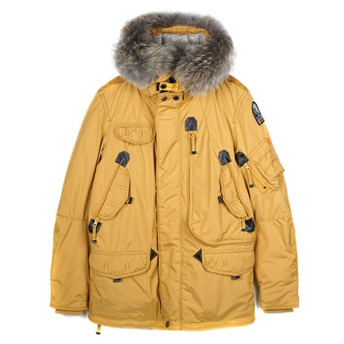 PARAJUMPERS 18 FW 남성 RIGHT HAND LIGHT 720 사프론
