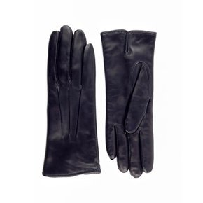 Nappa Leather Gloves For Women_Navy