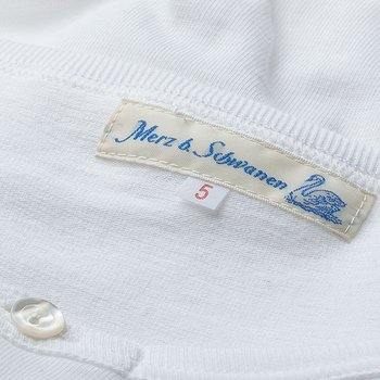 207 HENLEY SHORT SLEEVE WHITE