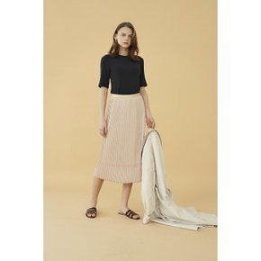 [블랭크공삼]pleats skirt_beige