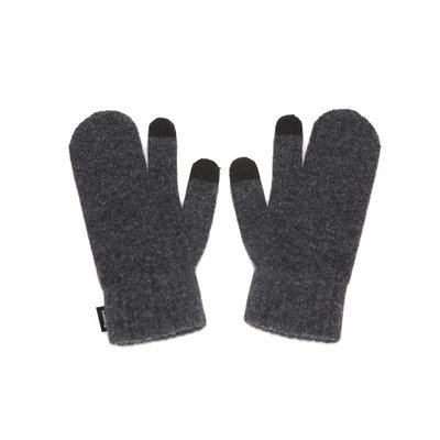 FENNEC KNIT TIMI GLOVES - CHARCOAL